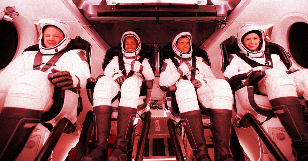 Blood Will Be Collected From SpaceX Space Tourists Next Month