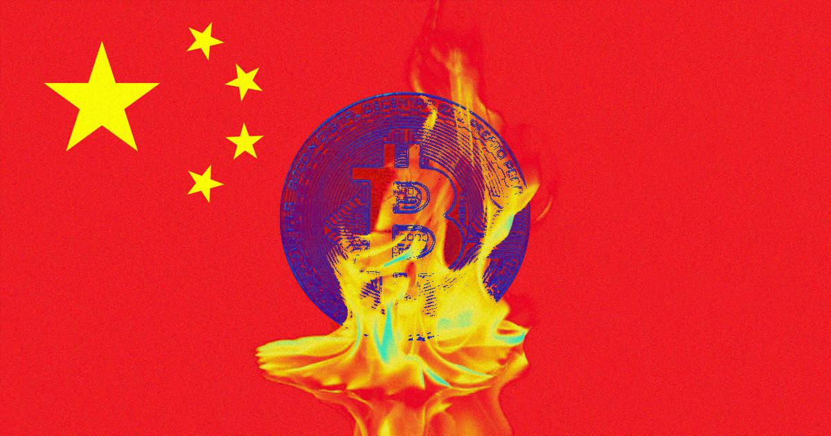 China Makes Crypto Transactions Illegal, Prompting Bitcoin Market Crash