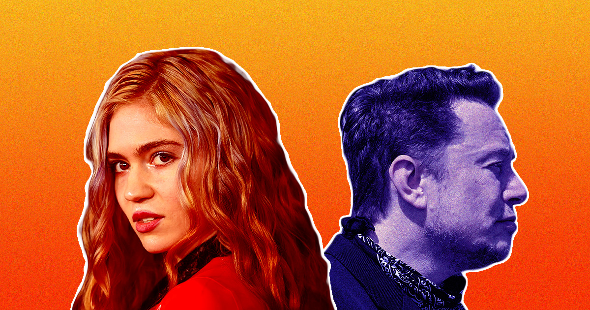 Elon Musk and Grimes Just Broke Up After Dating Three Years