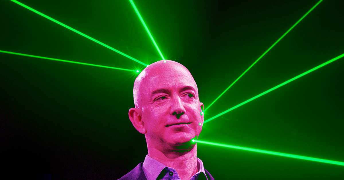 """Elon Musk Suggests Zapping Jeff Bezos """"With Our Space Lasers"""""""
