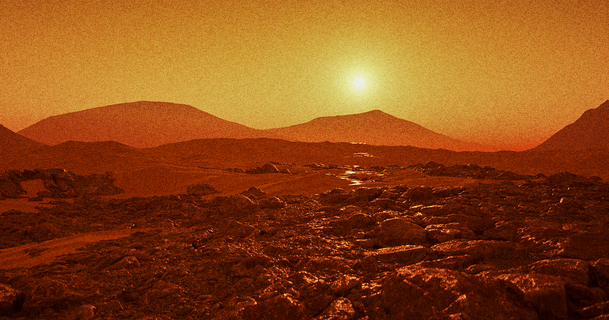 Scientists Say New Technique Could Turn Martian Air Into Rocket Fuel