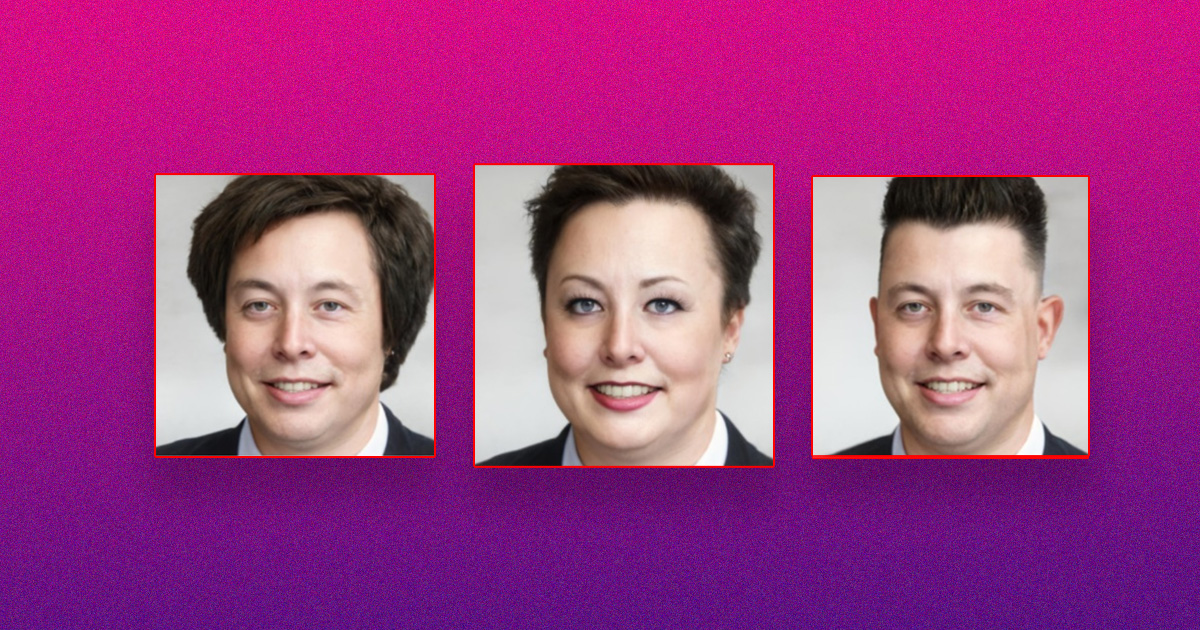 Neural Network Gives Elon Musk Incredible Makeovers