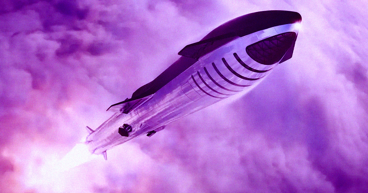 SpaceX Says It May Build Starships Exclusively for Space Tourism