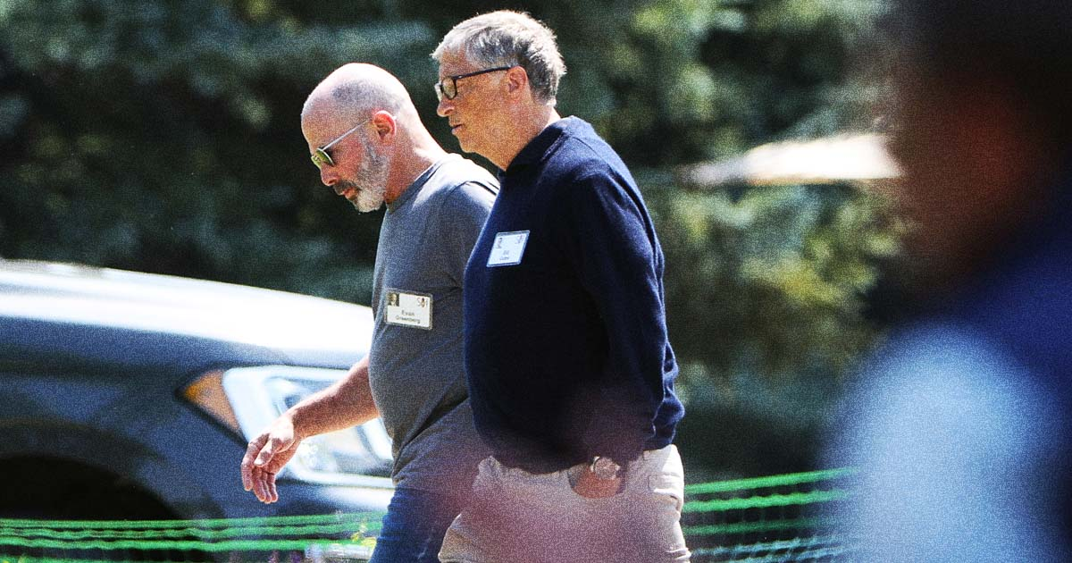 Microsoft's Top Lawyer Had to Tell Bill Gates to Stop Hitting on Employee