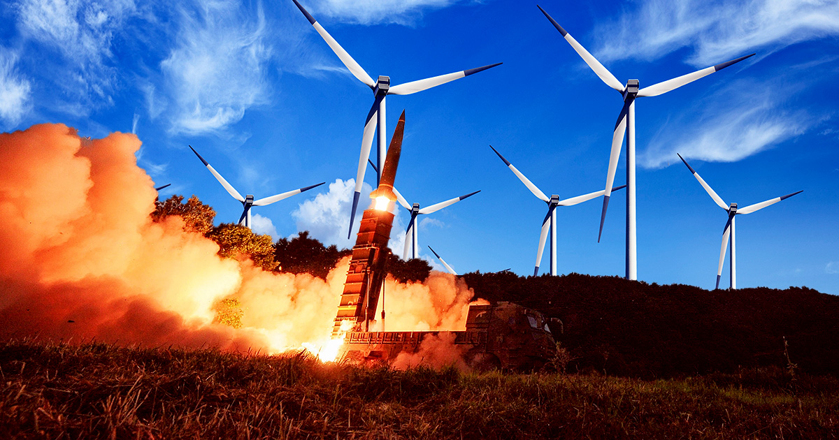 Rejoice! China Is Powering Ballistic Missile Silos With Environmentally-Friendly Wind Turbines