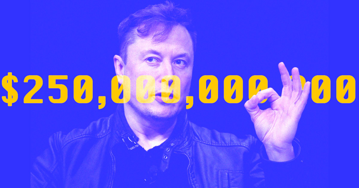 Elon Musk Is Now Worth Over a Quarter Trillion Dollars