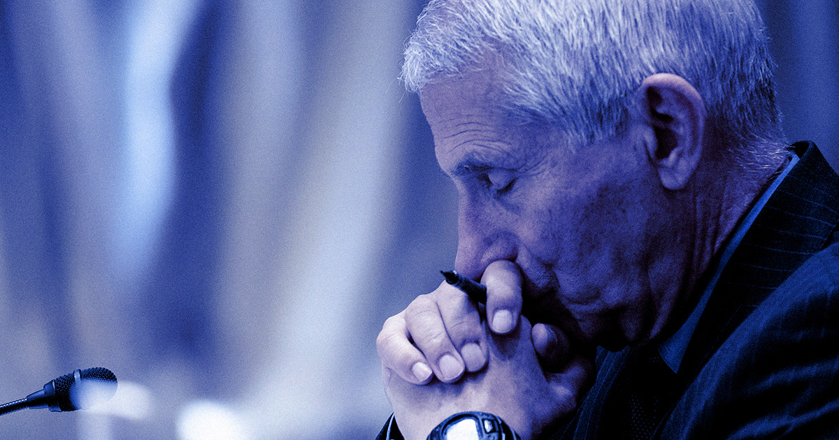 Fauci Says People Are Threatening His Wife and Daughters With Violence