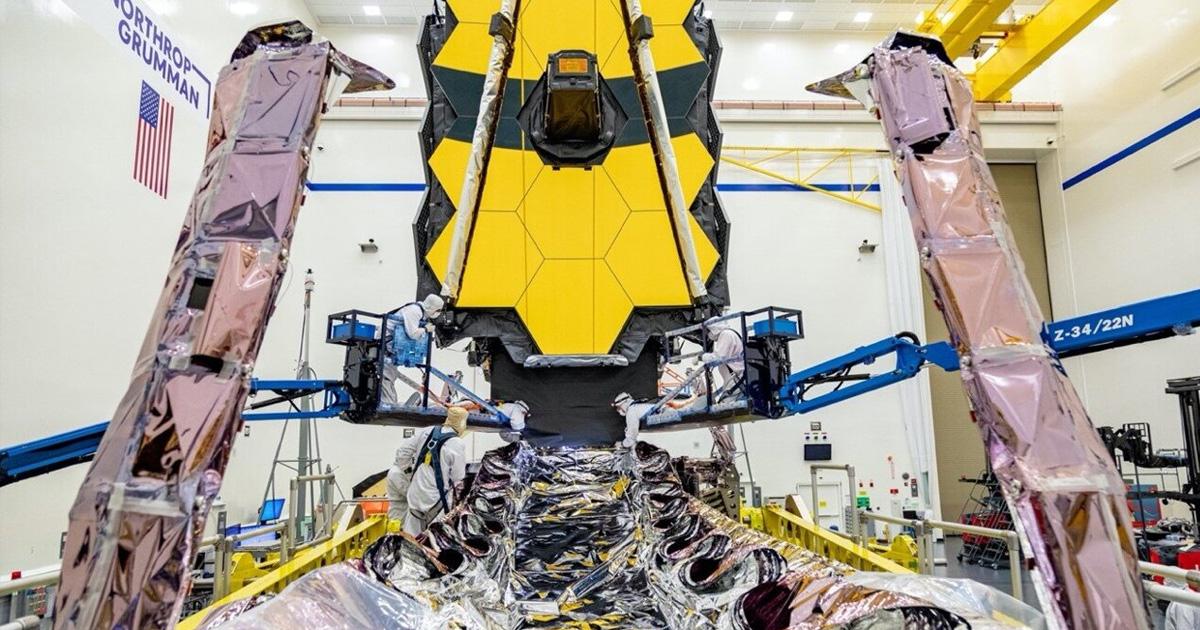 NASA's Scandal-Plagued James Webb Telescope Arrives at Launch Site