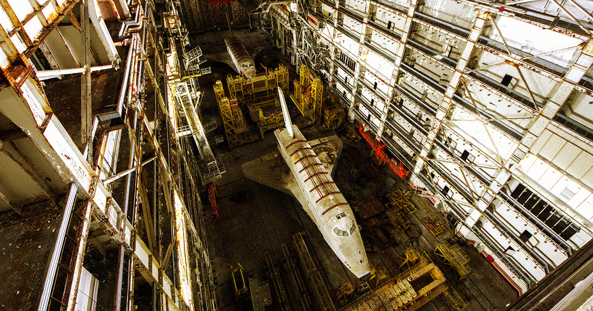 Man Attempting to Trade Derelict USSR Space Shuttle for Human Skull