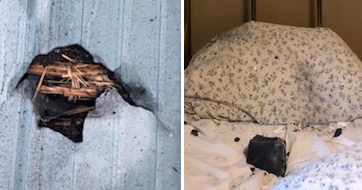 Woman Wakes in Terror When Meteorite Crashes Through Her Ceiling