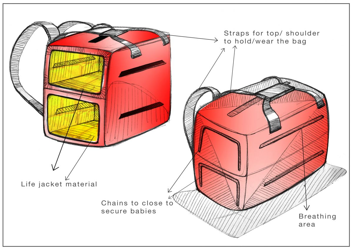 1dd084a58a3ba سعودي يبتكر حقيبة طوارئ لإنقاذ الأطفال الرضع في حالات الكوارث - مرصد ...